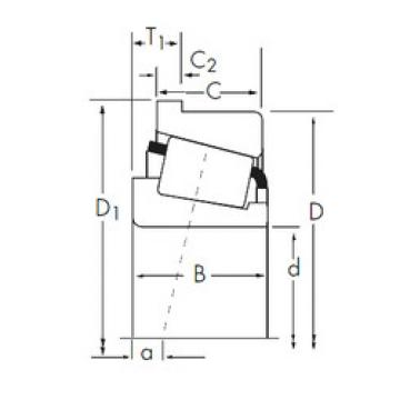 Rodamiento 838/832-B Timken